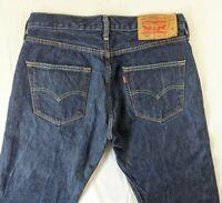 Levi's 501™ Original Fit Straight Leg Dark Blue Colour Jeans  Size W30 L30 30S
