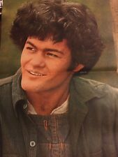 Micky Dolenz, The Monkees, Two Page Vintage Centerfold Poster