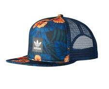 adidas Originals Mens Womens Floral Trucker / baseball cap/hat Trefoil  One Size