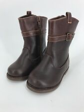 ab8904eb09be NWT Gymboree Girls Brown Riding Boots Zipper Toddler SZ 4 5 6 7 Girl SZ 11