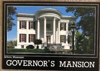 Vintage Postcard Gevernor's Mansion Jackson Mississippi