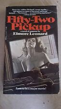 "Elmore Leonard, ""Fifty-Two Pickup,"" 1975, Dell 4555, VG, 1st"