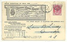CANADA ILLUSTRATED POSTAL STATIONERY CARD DOMINION EXPRESS  QV USED 1902