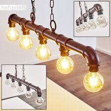 Lampe suspension Retro Lampe pendante Lustre de salon Plafonnier Métal 5 banches
