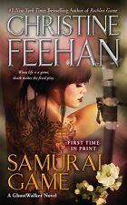 Samurai Game (GhostWalker Novel, A) by Christine Feehan