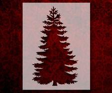 """Pine Tree Christmas 8.5"""" x 11"""" Stencil FAST FREE SHIPPING (575)"""