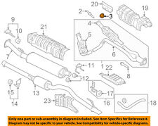 FORD OEM Exhaust System-Catalytic Converter Nut W520514S440