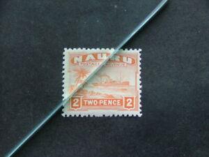 Nauru 1937 2d orange SG29B MM