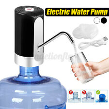 Portable Wireless Electric Drinking Water Bottle Pumps Dispenser Usb Charging Us