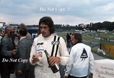 TOM PRYCE UOP Shadow F1 Ritratto British Grand Prix 1974 fotografia 1