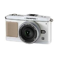 USED Olympus E-P1 12.3MP with 17mm f/2.8 White Excellent FREE SHIPPING