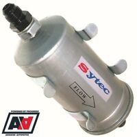Sytec Motorsport Hi Flow Fuel Filter & Clips With AN8 & AN6 Tails - SSFMC004 ADV