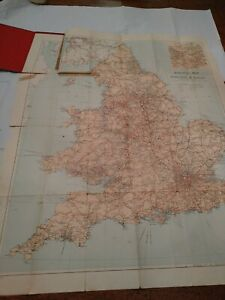 New Railway Map of England and Wales
