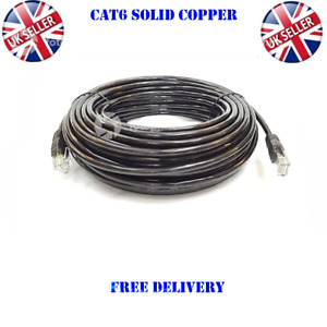 External Outdoor CAT6 UTP PE Network RJ45 Cable Gigabit Ethernet CCTV POE LOT