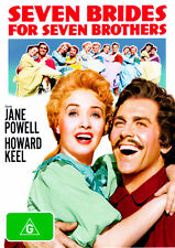 Seven Brides for Seven Brothers * NEW DVD * Jane Powell Howard Keel