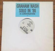 Graham Nash (Hollies, CSN) - Solo in '86 (A Conversation) LP