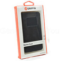 "GENUINE GRIFFIN WALLET CASE COVER FOR APPLE IPHONE 6 Plus 5.5"" -  BLACK GB40017"