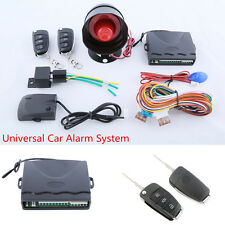 Car Anti-Theft Device with Flip Key Remote Control Keyless Entry Trunk Release