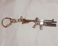 Mini Military Model Gun ( Metal Keyring / 6.5cm ) by Cross Fire