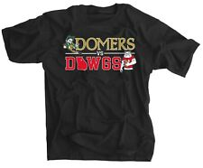 Domers vs Dawgs BLACK Shirt Notre Dame vs Georgia Football Rivalry Tee