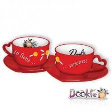 Dookie Tassen Set In Liebe vereint - Kuh - Geschenk