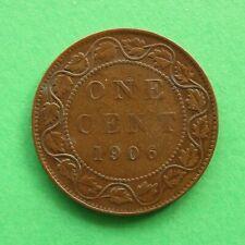 1906 Canada 1 Cent SNo35927