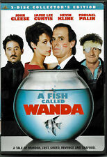 FISH CALLED WANDA- JOHN CLEESE, JAMIE LEE CURTIS - (2) DVD SET - COLLECTOR'S ED.