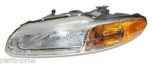 New Replacement Headlight Assembly LH / FOR 1996-00 CHRYSLER SEBRING CONVERTIBLE