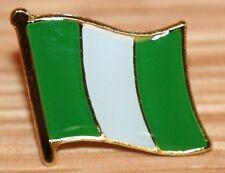 NIGERIA Nigerian Africa Flag Country Metal Lapel Pin Badge