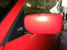 BMW E36 M3 328i 325i 323i Driver Left Door Mirror Glass Red HellRot Complete 2dr