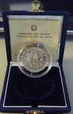 ITALIA LIRE 5000 ARGENTO 1995 CENT PISANELLO FDC SILVER  con scatola e garanzia