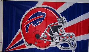 NEW 3x5 ft BUFFALO BILLS HELMET BANNER FLAG genuine NFL licensed