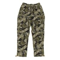 Reebok Classics Men's Camouflage Trackpant Pants (Black/Hunter Green) BK5066
