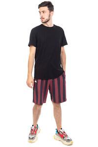 KAPPA Shorts Size XL Two Tone Striped Logo Patch Elasticated Waist Regular Fit