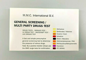 General Drug Tests - 10 x Ampoules to detect the presence of various drugs