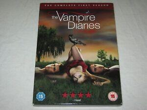 The Vampire Diaries - Complete Season 1 - 5 Disc - VGC - Region 2 - DVD
