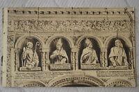"""CPA """" Les Saints de SOLESMES - Les quatre Docteurs du Tombeau de Notre Dame"""