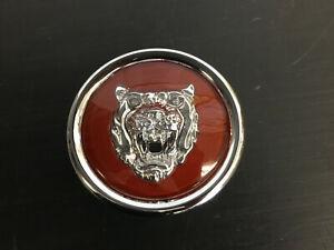 Jaguar BRIGHT RED Wheel Badge Emblem Center Cap MNA6249EA FITS ALL 1988-2012
