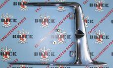 1954-1956 Buick,  Accessory Gas Door Guard. Chrome