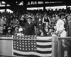 1924 President CALVIN COOLIDGE Glossy 8x10 World Series Photo Print Poster