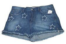 Shorts Sunny Jessica Simpson Denimjourney Festival Star Frayed Denim Jean Shorts Bryce 32 Nwt