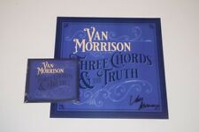 Van Morrison Signed Autograph Lithograph Print Three Cords & The Truth + CD COA