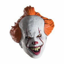 Pennywise IT Movie 3/4 Adult Costume Mask
