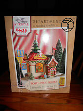 DEPT 56 NORTH POLE VILLAGE THE JOLLY FELLOW TOY CO. *Excellent Store Display*