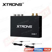 Car Freeview DVB-T Digital TV Box Tuner Receiver HDMI Remote Control + 2 Antenna