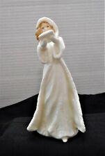 Royal Doulton Cristmas Carols Porcelain Lady Figurine