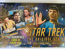 1998 Skybox Star Trek Original Series Season 2 Factory Sealed Box autograph