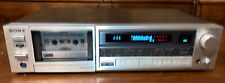 SONY TC-K555 3 Head Stereo Cassette Deck Player Recorder Tested Working