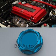 For Honda Acura Blue Engine Oil Filter Cap Lid Valve Cover Mugen Aluminum Billet