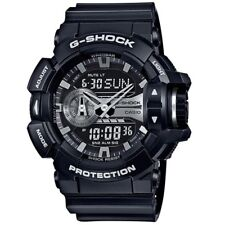Casio G-Shock GA-400GB-1A Black Grey Digital Analog Men's Sports Watch